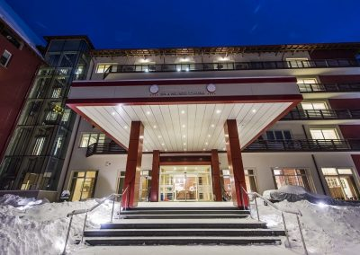 Hotel TTS Covasna - intrare