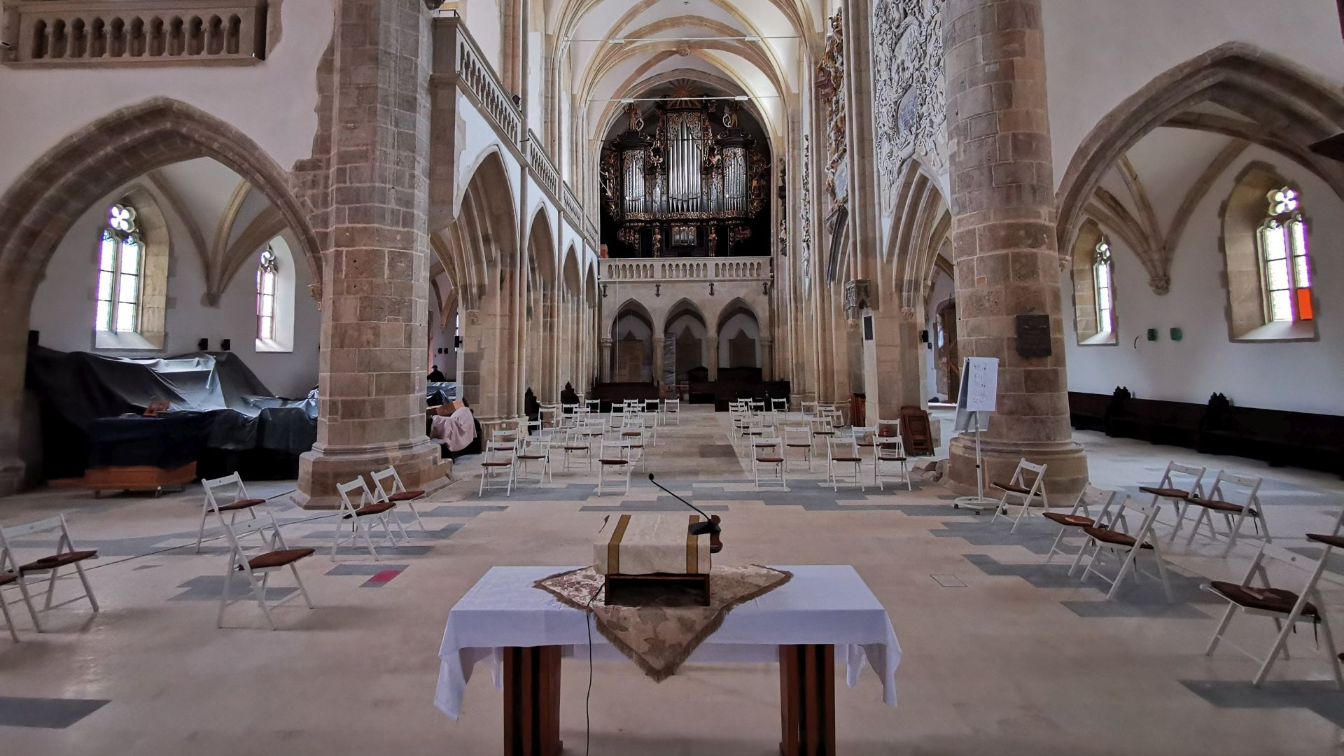 Catedrala Sf. Maria, Sibiu - interior