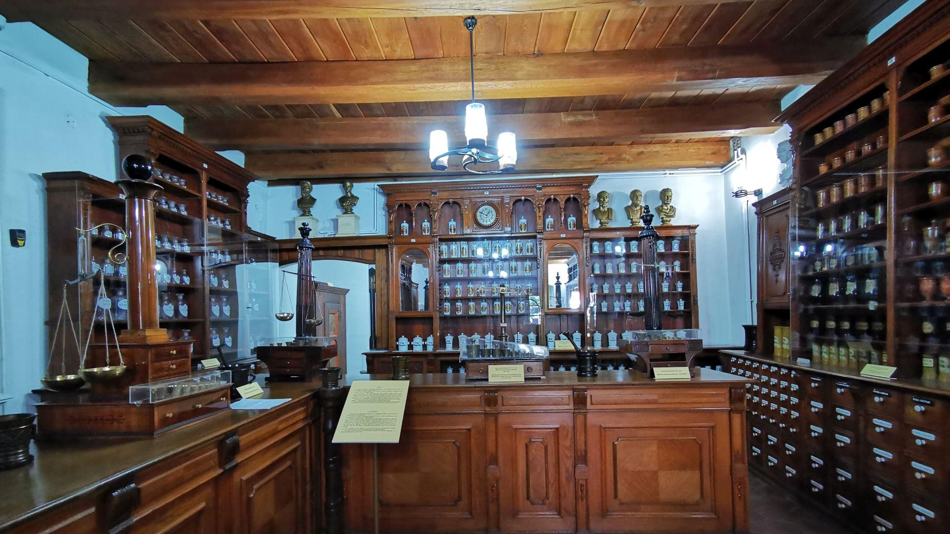 Muzeul Farmaciei, Sibiu - interior